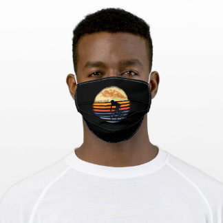 Retro Racing Cyclist Cyclist Adult Cloth Face Mask