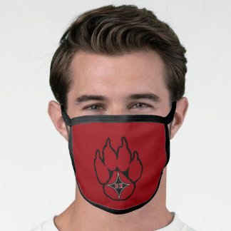 ROCK HILL HIGH SCHOOL  BEARCATS SOUTH CAROLINA FACE MASK