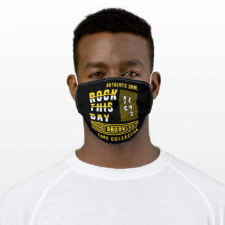 Rock this day modern adult cloth face mask