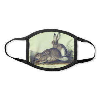 Rocky Mountain Hare Face Mask