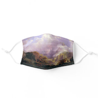Rocky Mountain Landscape Bierstadt Painting Adult Cloth Face Mask