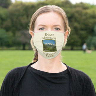 Rocky Mountains National Park Spring Adult Cloth Face Mask