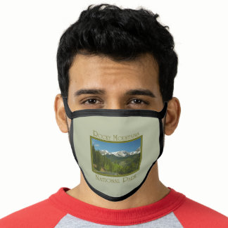 Rocky Mountains National Park Spring Face Mask