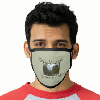 Rocky Mountains National Park Valley Spring Face Mask
