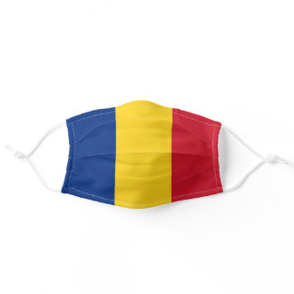Romania Flag Adult Cloth Face Mask