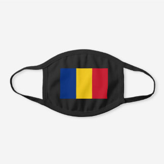 Romania Flag Cotton Face Mask