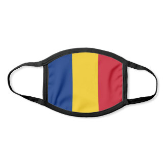 Romania Flag Face Mask