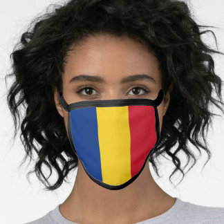 Romania & Romanian Flag Mask - fashion/sports fans