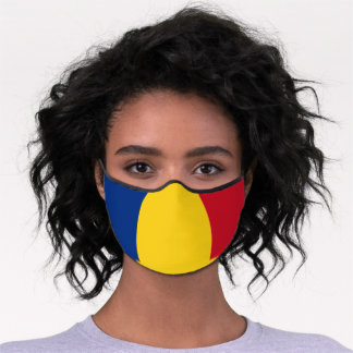 Romanian Flag & Romania mask /patriotic fashion