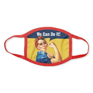 Rosie the Riveter | Face Mask | Poly Cotton