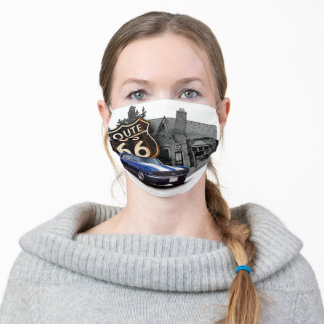 Route 66 Muscle Adult Cloth Face Mask