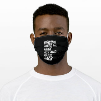 Rowing Adult Cloth Face Mask