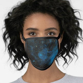 Runaway Star CW LEO Outer Space Interstellar Face Mask