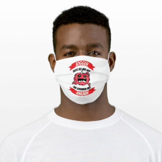 Running Adult Cloth Face Mask