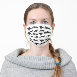Running Silken Windhounds Adult Cloth Face Mask