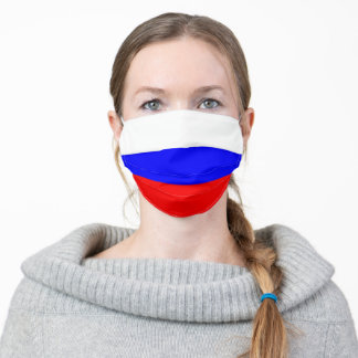 Russia flag country flag symbol nation adult cloth face mask