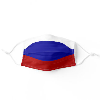 RUSSIA FLAG RUSSIAN PRIDE ADULT CLOTH FACE MASK
