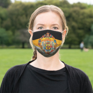Russian Empire Flag Adult Cloth Face Mask