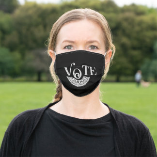 Ruth Bader Ginsburg Lace Collar Vote Adult Cloth Face Mask