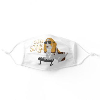 Sad Songs Adult Cloth Face Mask
