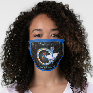 Sagittarius Zodiac Sign Face Mask