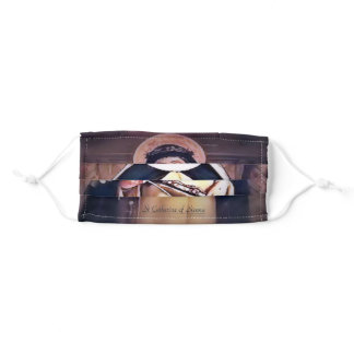 Saint Catherine of Sienna Adult Cloth Face Mask