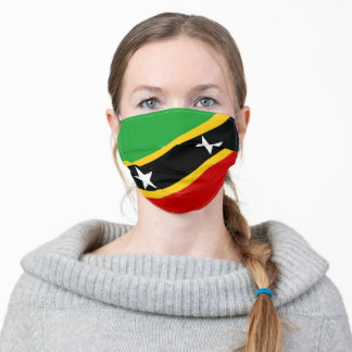 Saint Kitts and Nevis flag country flag symbol nat Adult Cloth Face Mask