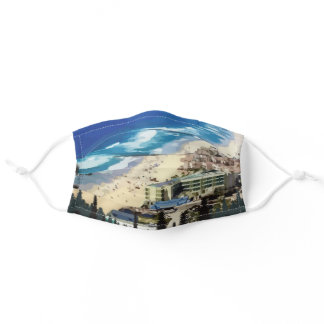 San Diego 70 miles of glorious coastline Adult Cloth Face Mask