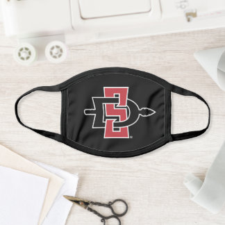 San Diego State University Logo Face Mask