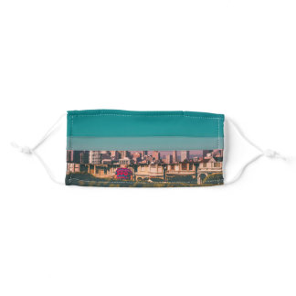 San Francisco Summer Sunset Adult Cloth Face Mask