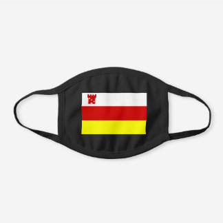 Santa Barbara, California Flag Cotton Face Mask