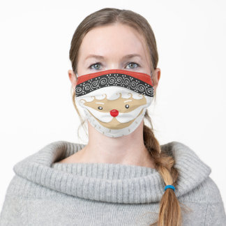 Santa Claus Adult Cloth Face Mask