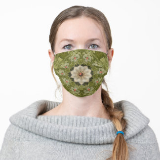 Sara's Flowers. Cloth Face Mask