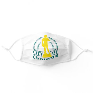 Sarasota, Florida City Flag Cloth Face Mask
