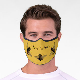 Save The Bees Premium Face Mask