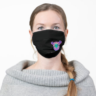 Save the Rhinos Respect the Locals Adult Cloth Face Mask