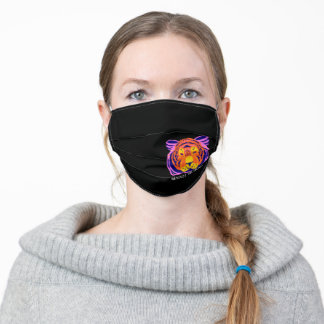 Save the Tigers Respect the Locals Adult Cloth Face Mask