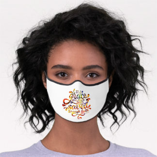Saved by Grace Premium Face Mask