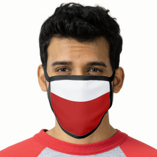 Scarlet Red All-Over Print Face Mask
