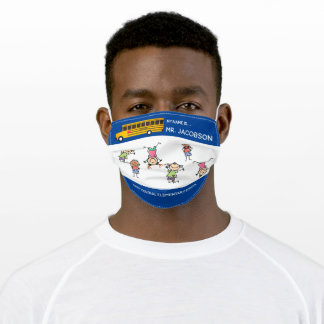 School Bus Driver Adult Cloth Face Mask