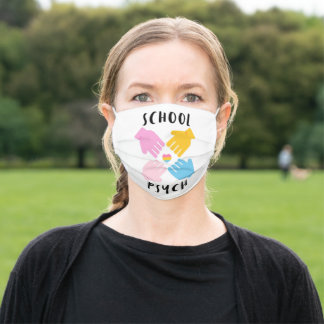 School Psychology Adult Cloth Face Mask