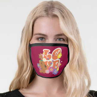 "Scooby-Doo ""Love"" Face Mask"