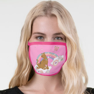 Scooby-Doo Rainbow Butterfly Face Mask