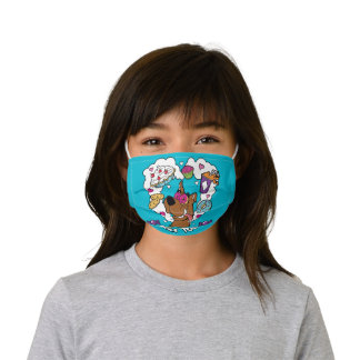 "Scooby-Doo ""Sweet Tooth"" Kids' Cloth Face Mask"