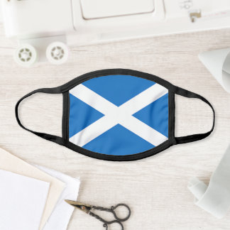 Scotland Flag St Andrews Cross Scottish Saltire Face Mask