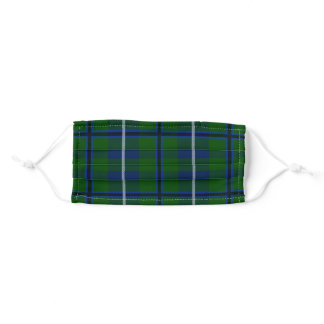 Scottish Clan Douglas Tartan Plaid Adult Cloth Face Mask
