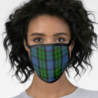 Scottish Clan MacKay Tartan Plaid Face Mask