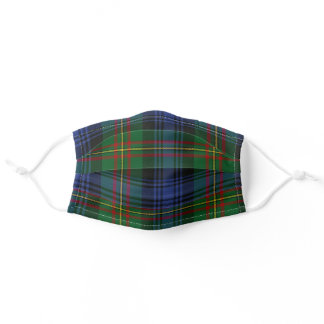 Scottish Clan MacLaren Tartan Plaid Pattern Adult Cloth Face Mask