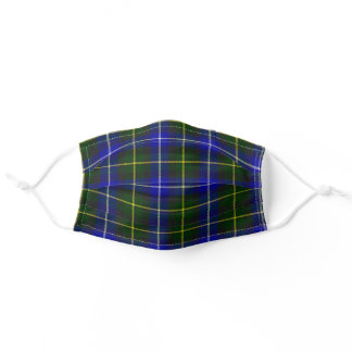 Scottish Clan Macneil of Barra Tartan Plaid Adult Cloth Face Mask