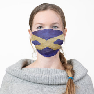 Scottish Flag - Face Mask